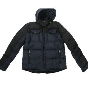 TOMMY HILFIGER Quilted Puffer Winter Jacket w Hood